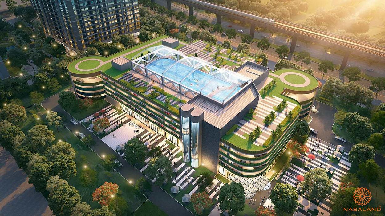 Tiện ích dự án Vinhomes Ocean Park - bể bơi 4 mùa