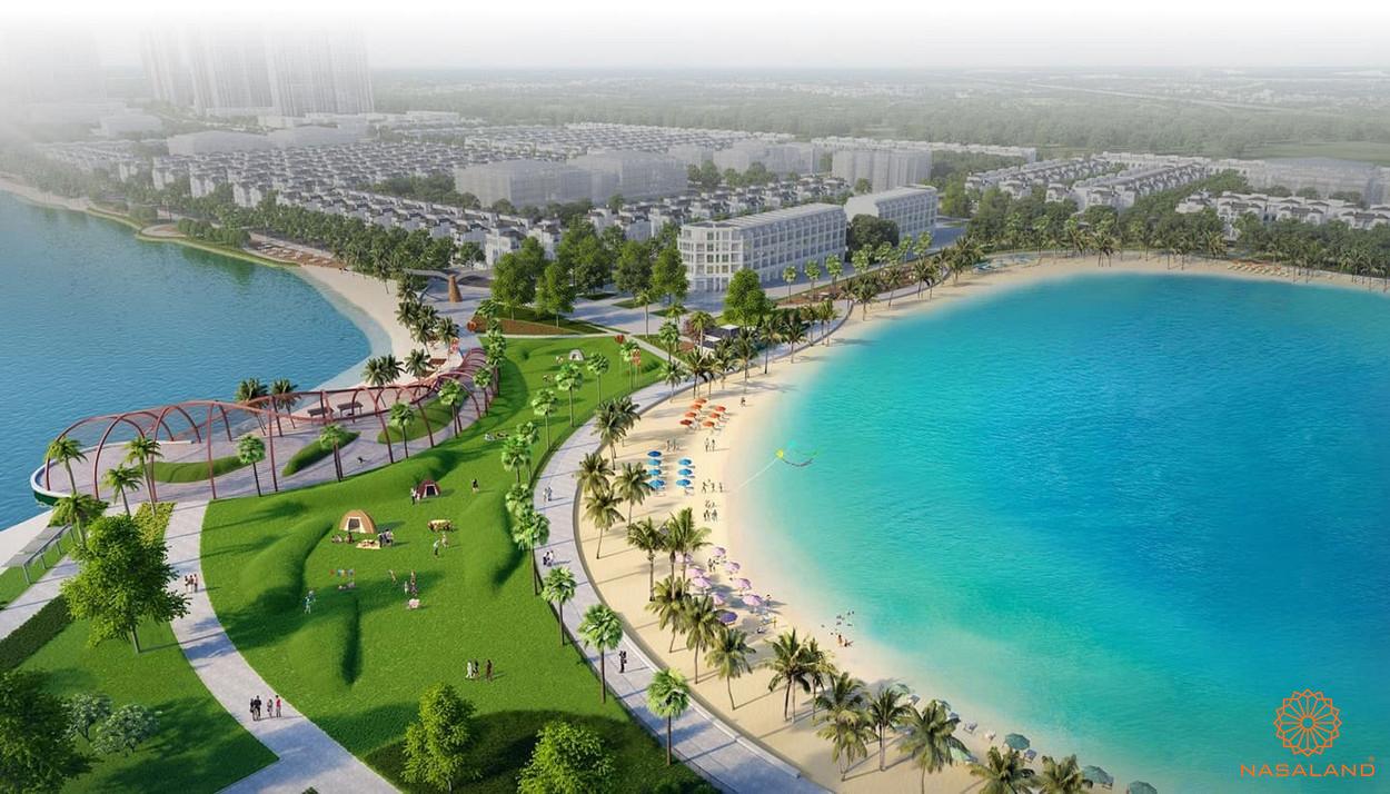 Tiện ích dự án Vinhomes Ocean Park - biển hồ nhân tạo