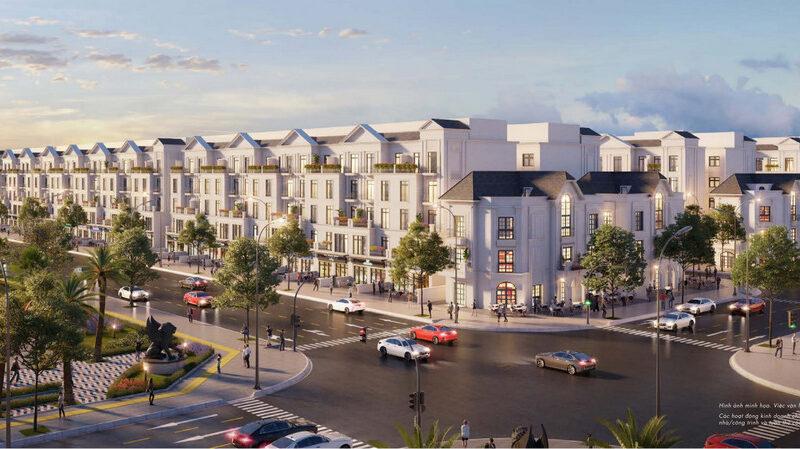 Góc nhìn phân khu biệt thự nhà phố tại dự án Vinhomes Grand Park Quận 9