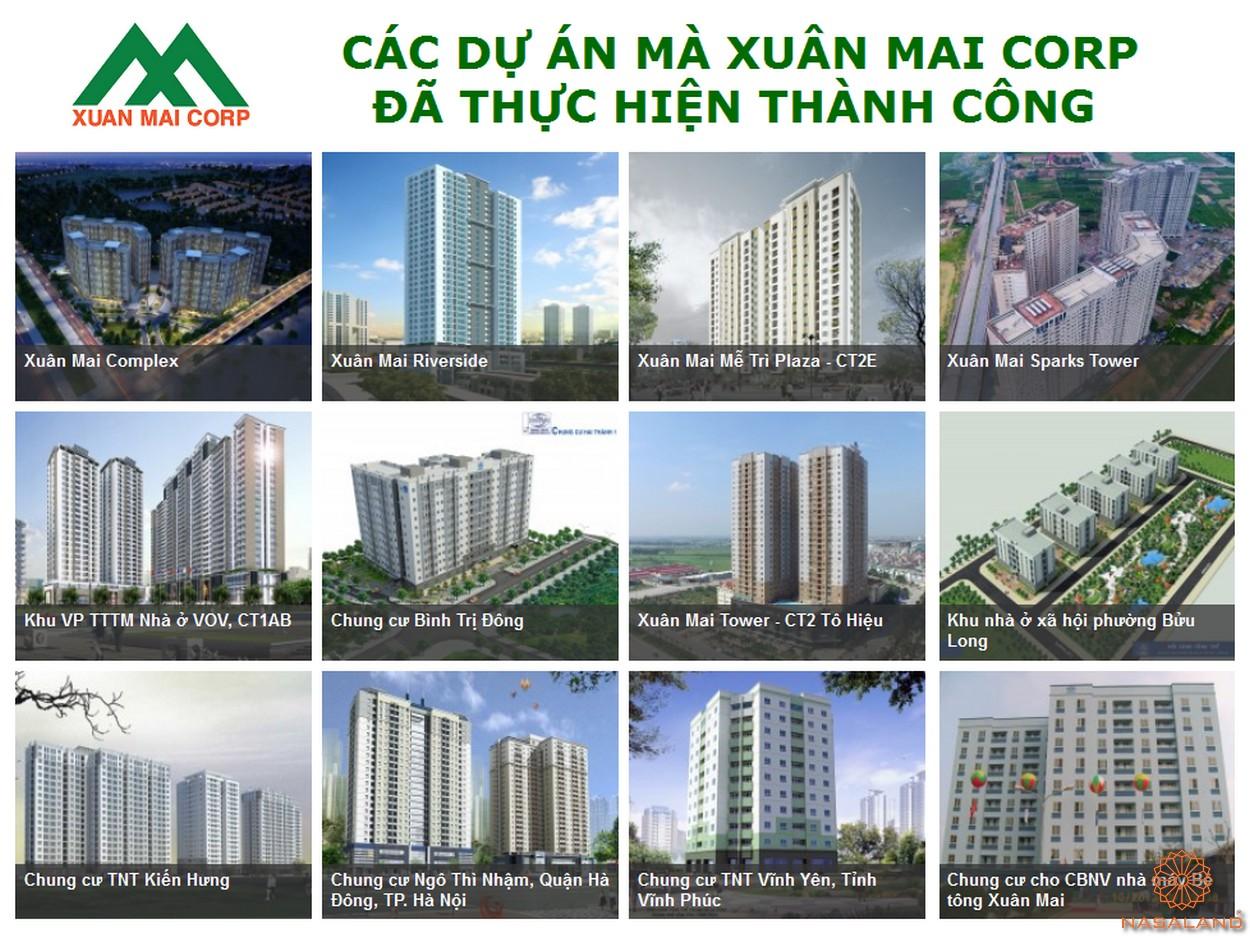 Các dự án mà Xuân Mai Group đã thực hiện thành công