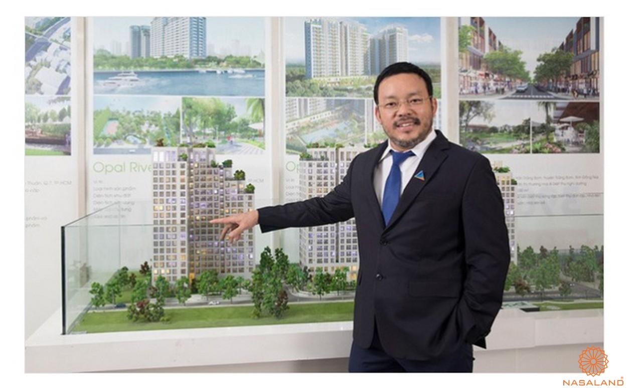 Chủ đầu tư căn hộ Opal Central Park Bình Dương - Chủ tịch Lương Trí Thìn