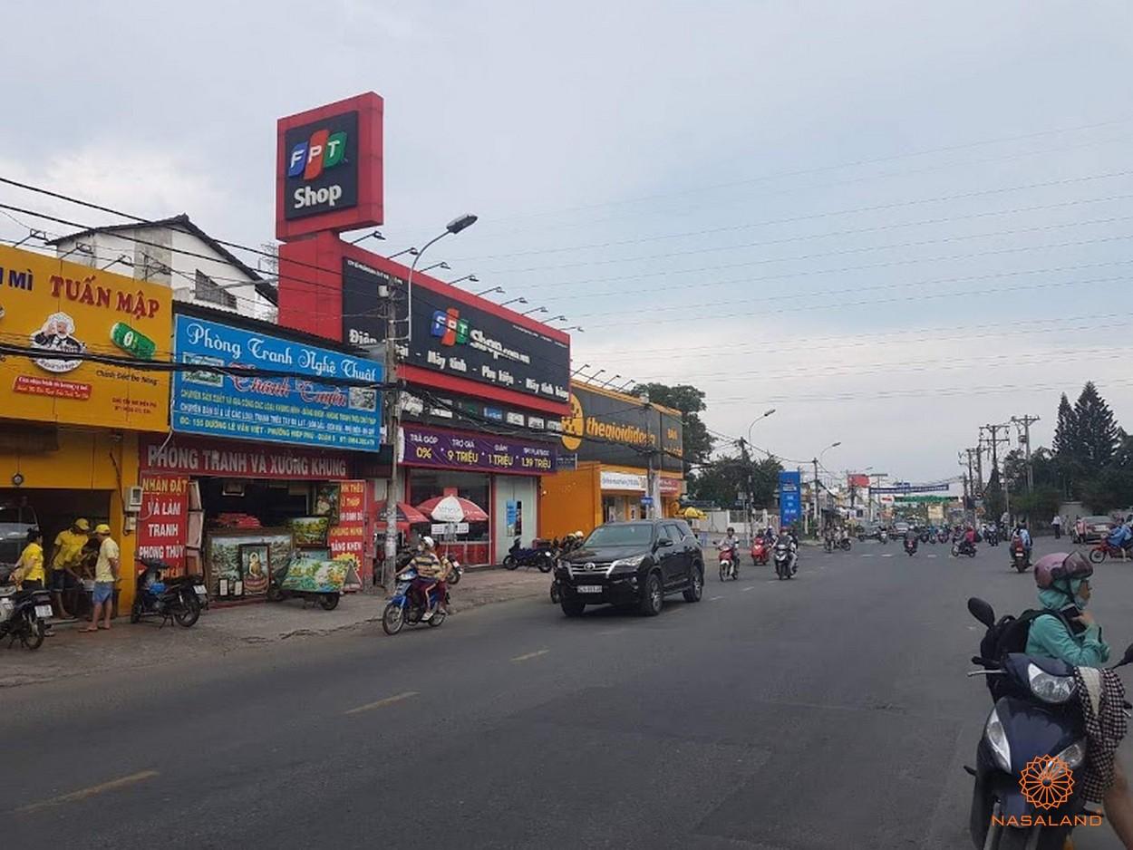 Hạ tầng Quận 9 - đường Lê Văn Việt