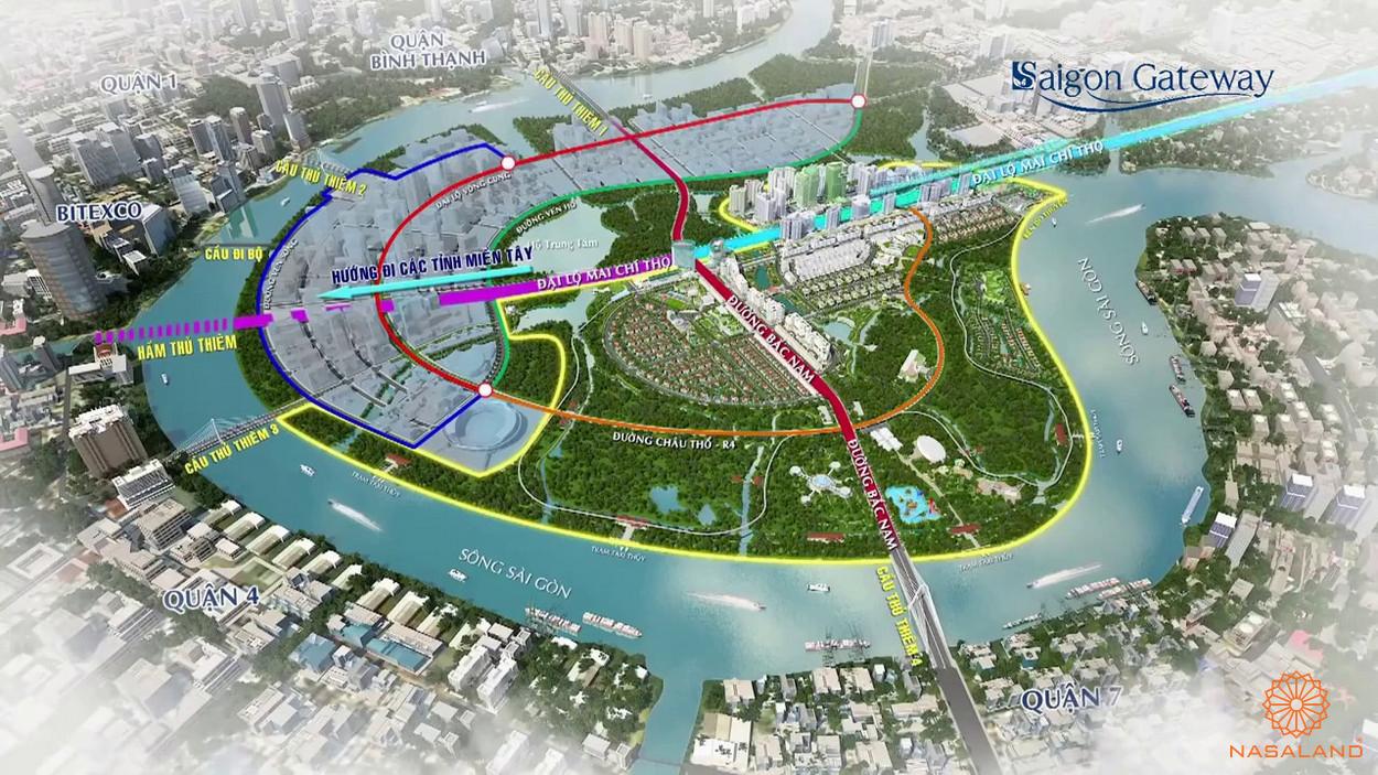 Tiềm năng của khu đông Sài Gòn khi các dự án mới được hoàn thành