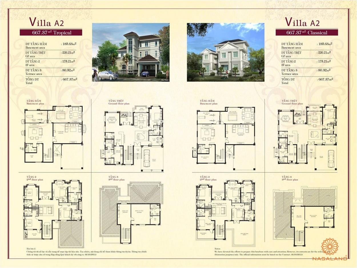 Mặt bằng chi tiết của dự án Chateau Phú Mỹ Hưng Quận 7