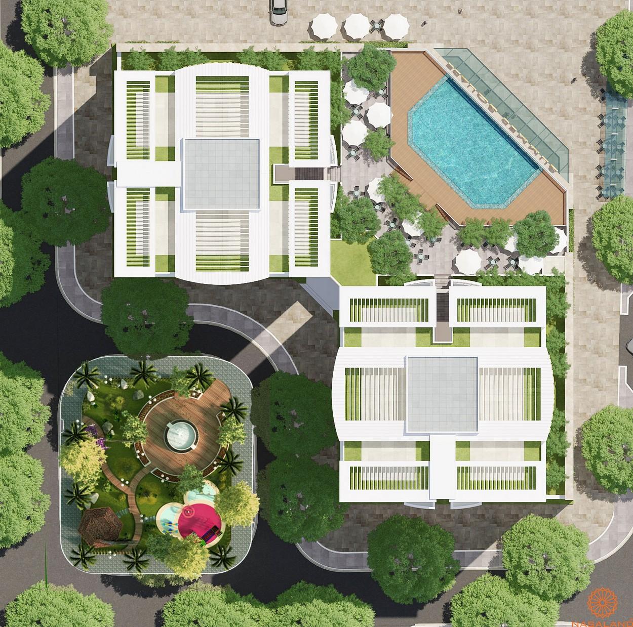 Mặt bằng tổng thể căn hộ Summer Square quận 6
