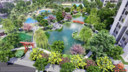 Mua căn hộ The Origami với cảnh quan vườn Nhật