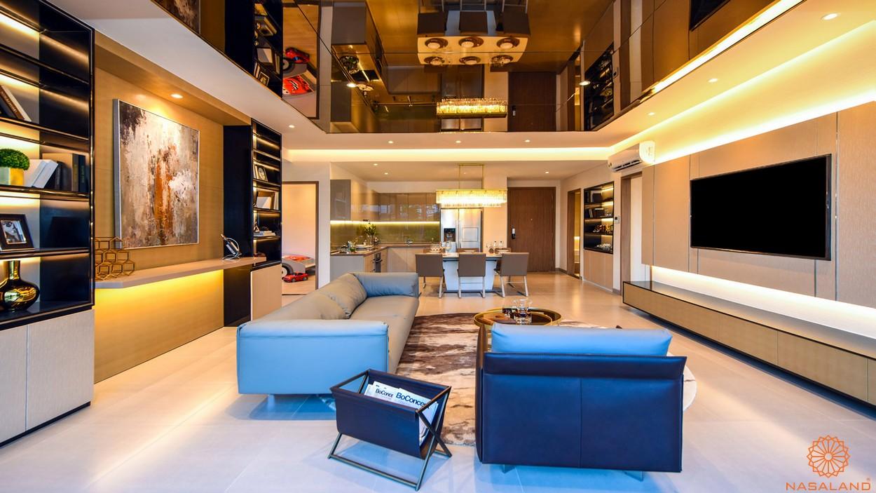 Nhà mẫu căn 3PN dự án căn hộ River Panorama quận 7