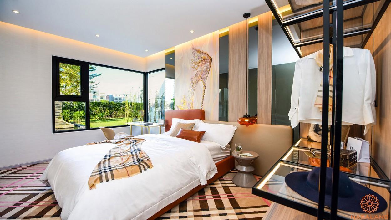 Phòng ngủ căn 3PN dự án căn hộ River Panorama quận 7