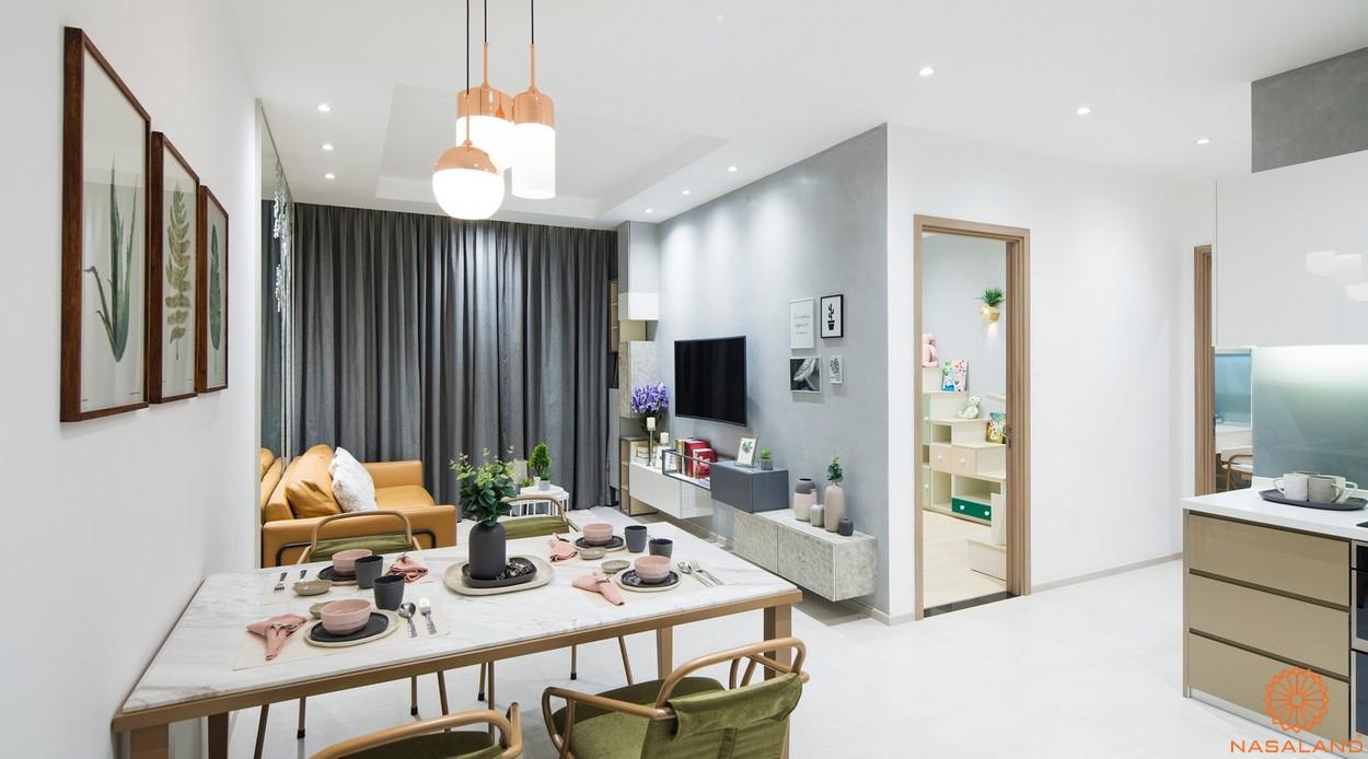 Nhà mẫu căn hộ dự án Charmington Dragonic quận 5