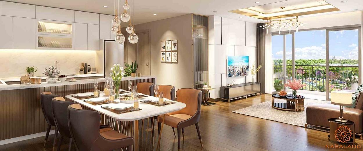 Nhà mẫu phòng ăn dự án căn hộ chung cư Eco Green Sà Gòn quận 7