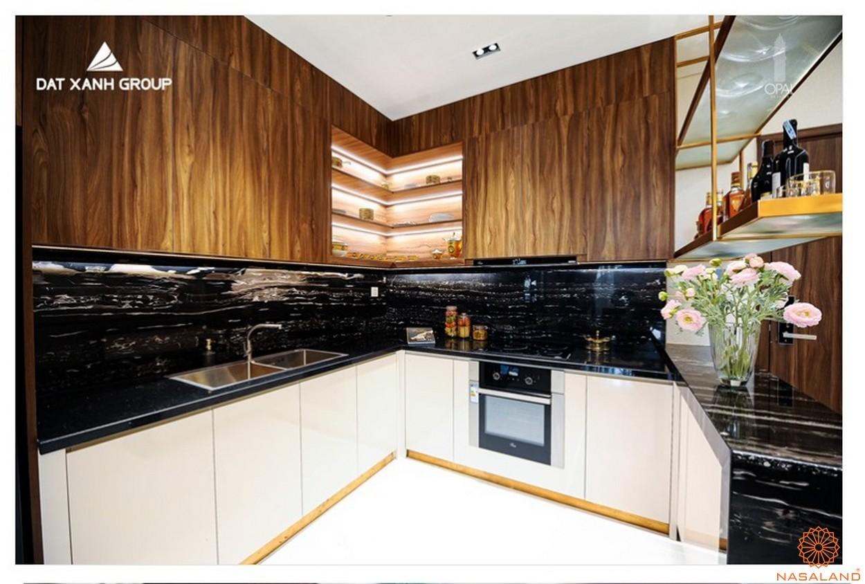 Phòng bếp căn hộ Opal Central Park Bình Dương