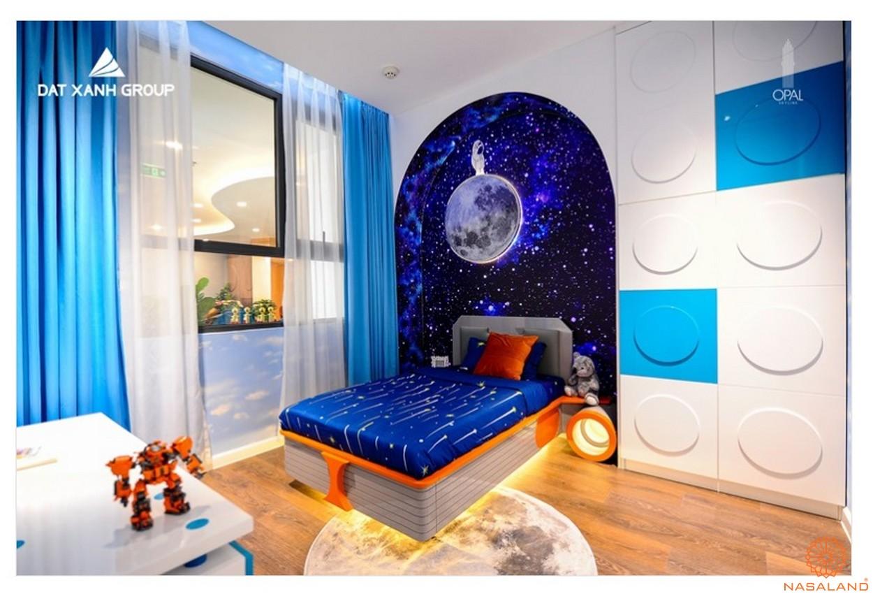 Phòng ngủ trẻ em căn hộ Opal Central Park Bình Dương