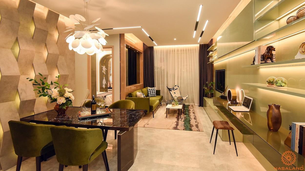 Nội thất phòng ăn căn hộ The Grande q7