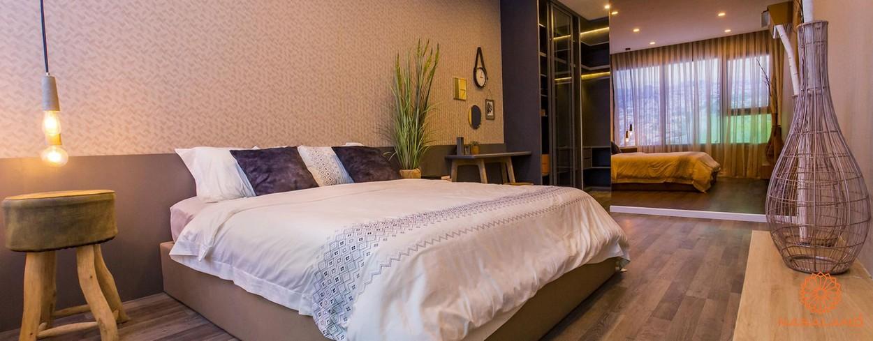 Nhà mẫu phòng ngủ tại dự án