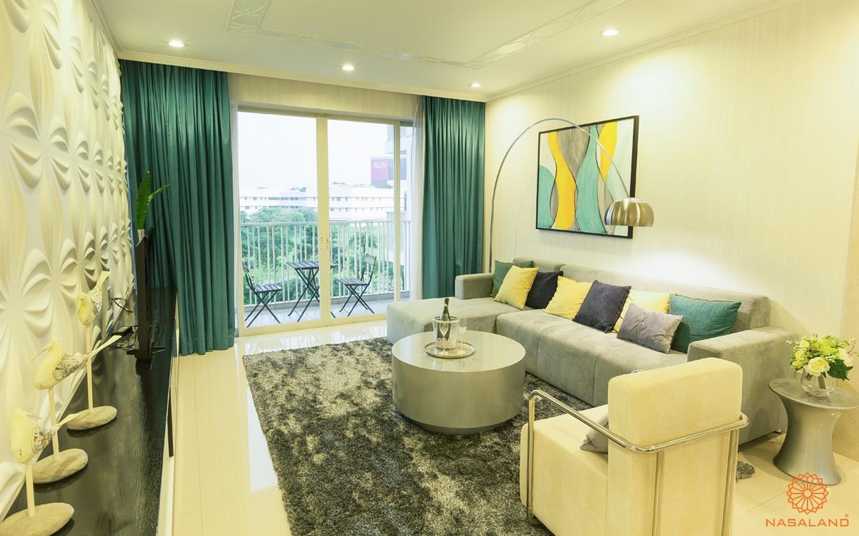Nhà mẫu dự án căn hộ The Canary Heights Bình Dương