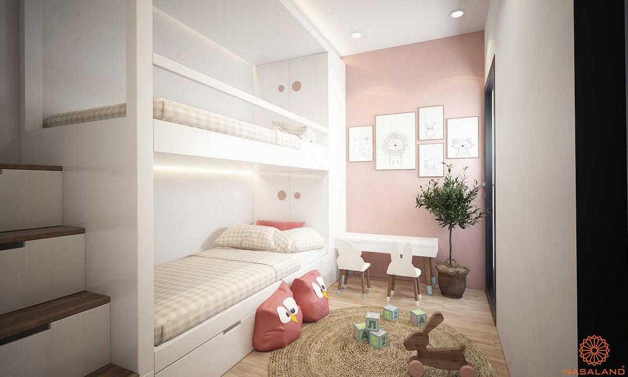 Nội thất phòng ngủ trẻ em căn hộ King Crown Infinity Thủ Đức