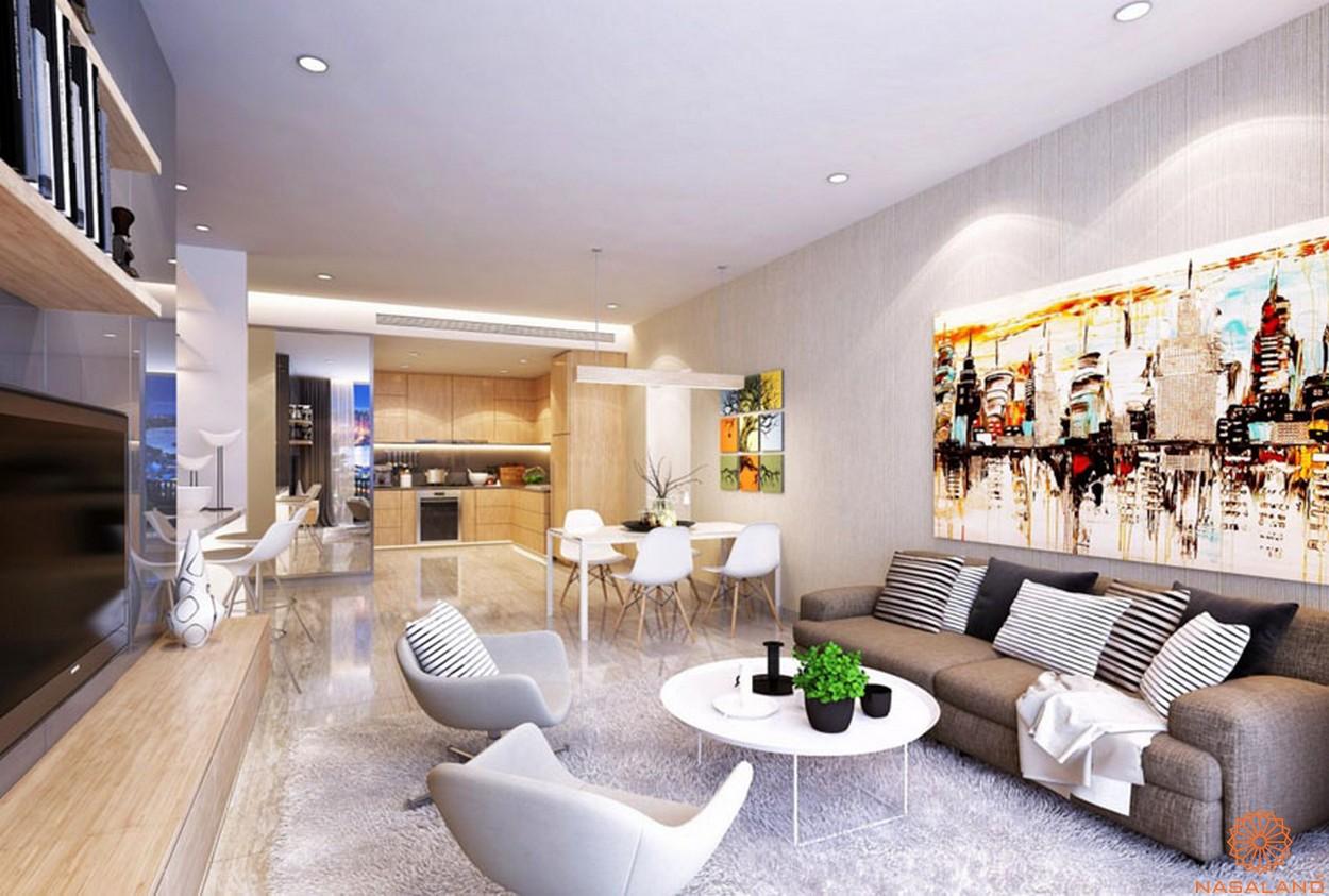 Nội thất căn hộ Lavida Plus quận 7 hiện đại và sang trọng