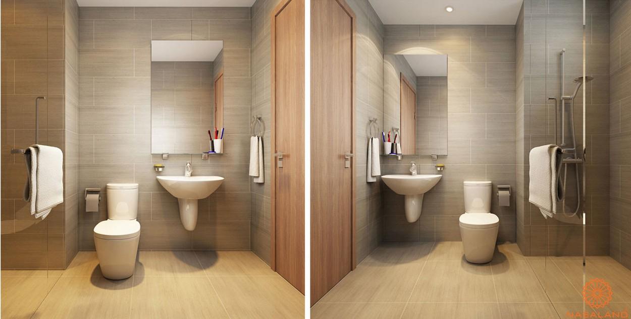Nội thất căn hộ Lux Star quận 7 phòng vệ sinh