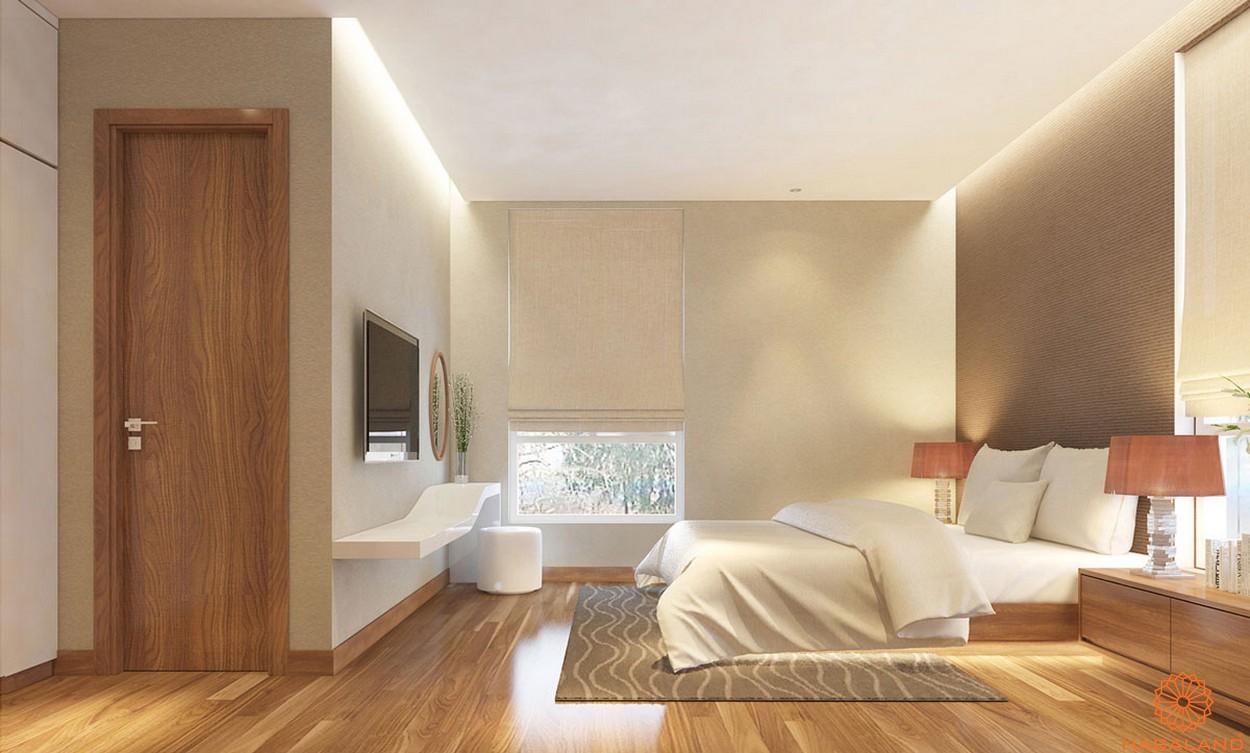 Nội thất căn hộ Lux Star quận 7 phòng ngủ