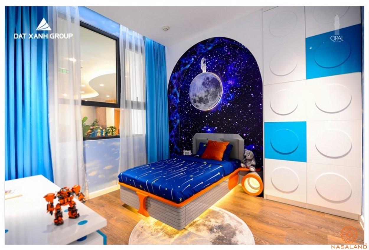 Nội thất phòng ngủ căn hộ Opal Central Park Bình Dương