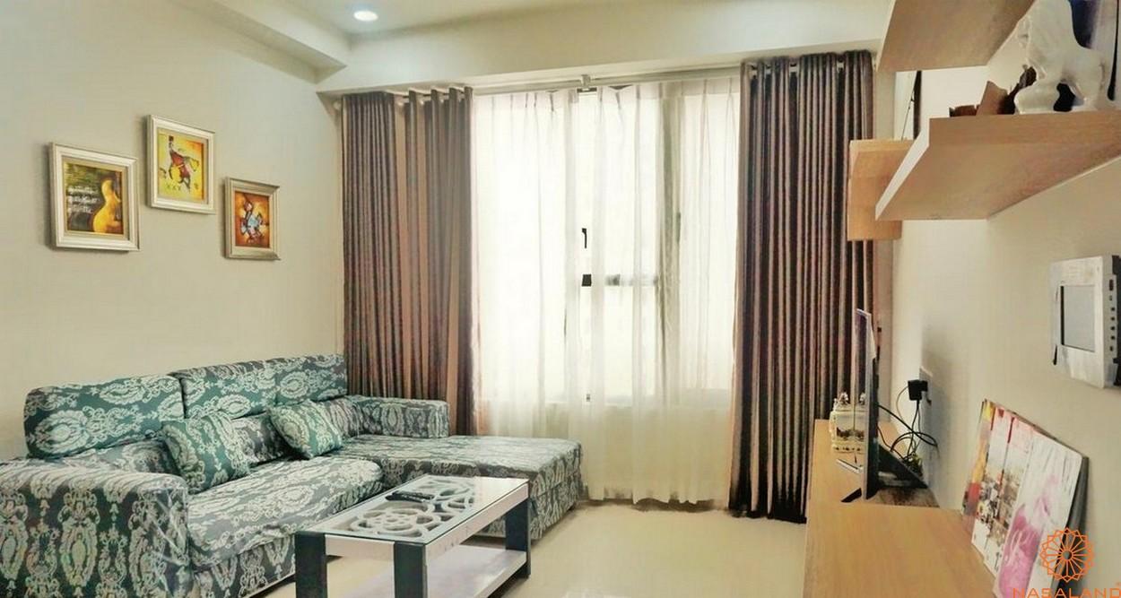Nội thất phòng khách dự án căn hộ The Tresor quận 4