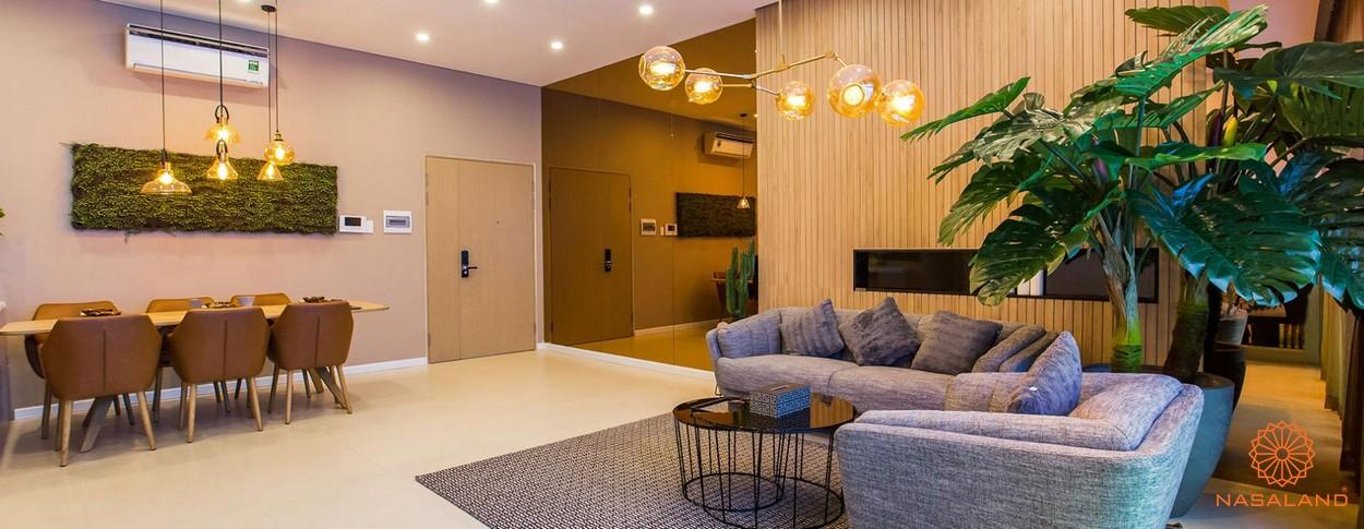 Nội thất phòng khách của dự án