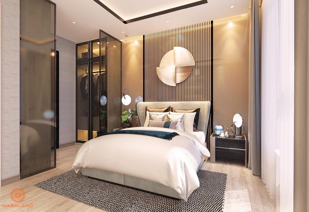 Nội thất phòng ngủ tại dự án The Ascentia