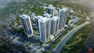Phối cảnh dự án căn hộ The Blue Star quận 7