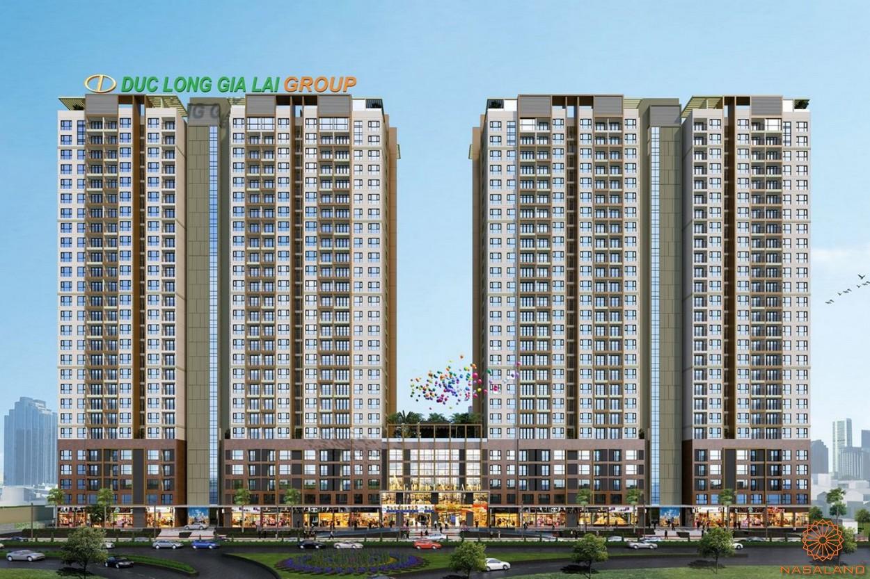 Phối cảnh dự án căn hộ Đức Long Golden Land quận 7