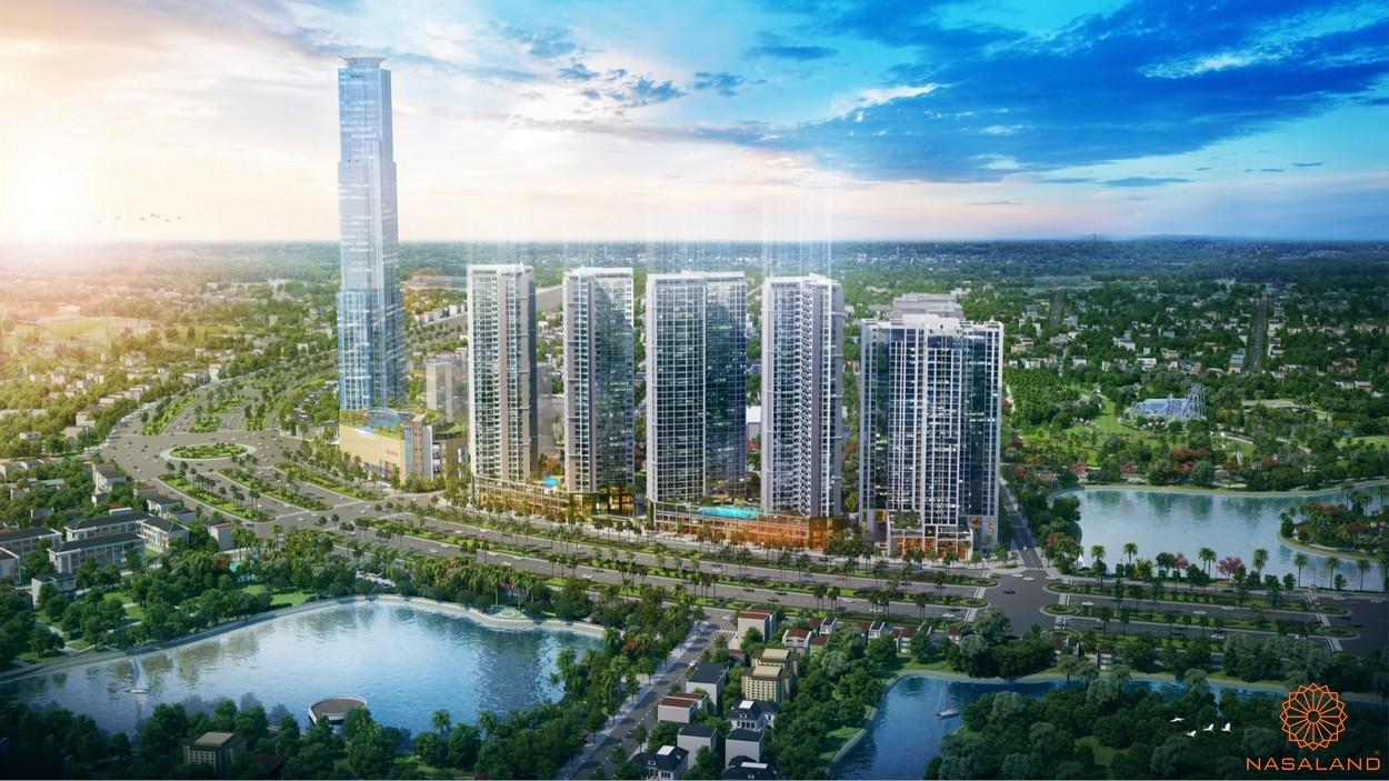 Phối cảnh dự án căn hộ Eco Green Sài Gòn quận 7