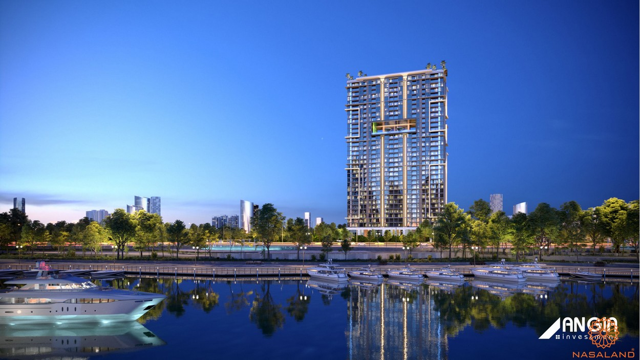 Phối cảnh tổng thể dự án căn hộ Sky 89 quận 7