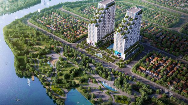 Phối cảnh tổng thể căn hộ Lux Star quận 7