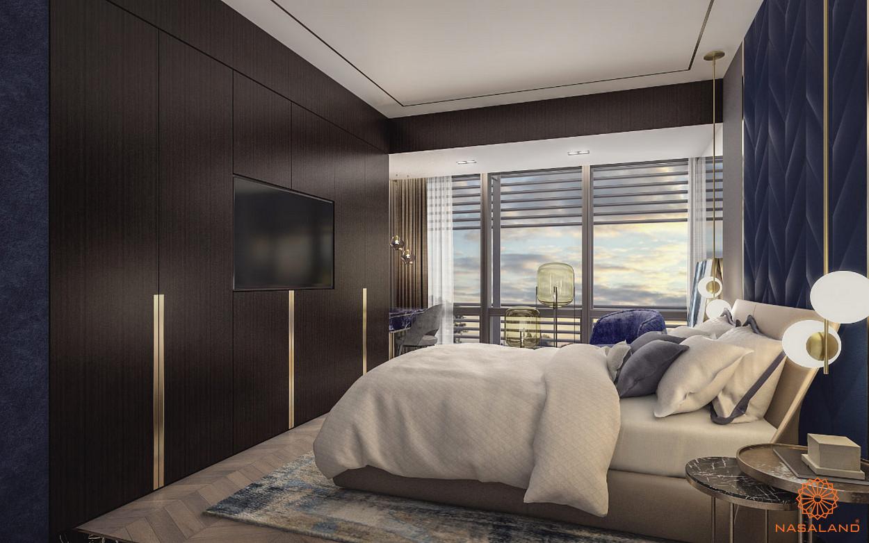 Thiết kế .căn hộ The Vertex Private Residences quận 1 - phòng ngủ