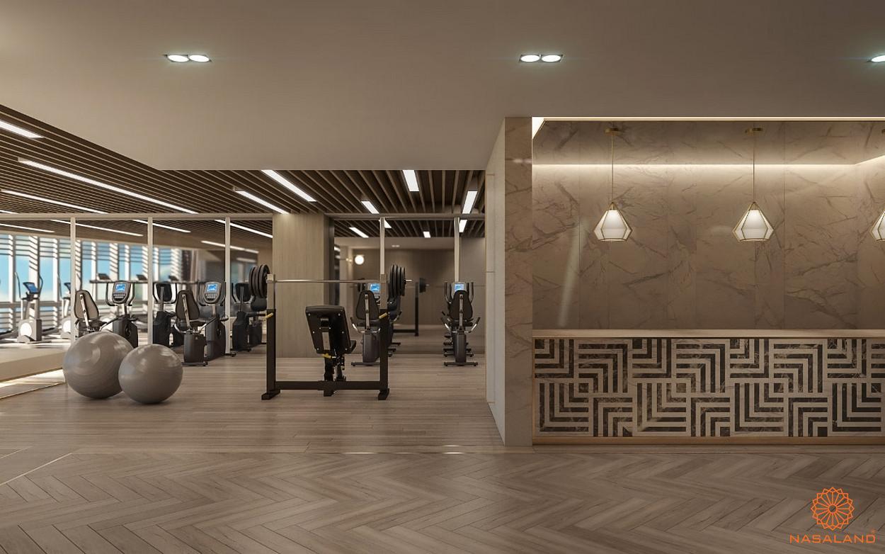 Tiện ích căn hộ The Vertex Private Residences quận 1 - phòng gym
