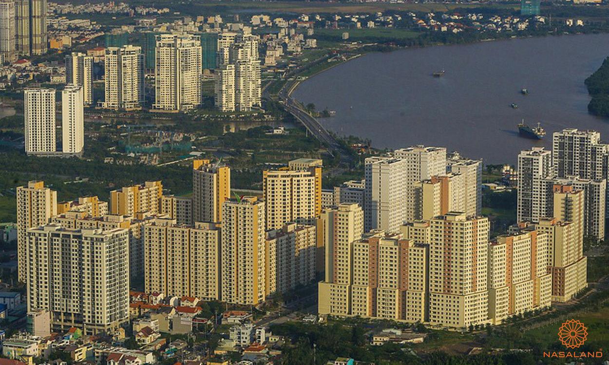 Thị trường căn hộ Sài Gòn tại khu đông