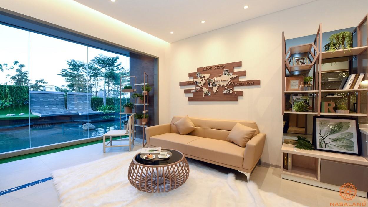 Thiết kế phòng khách dự án căn hộ River Panorama quận 7
