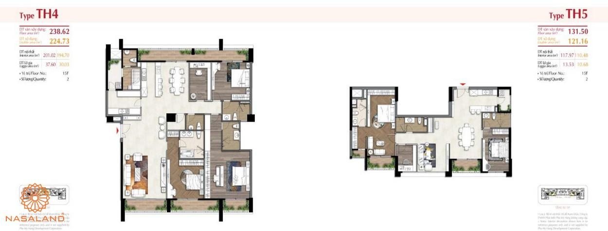 Thiết kế căn hộ tại The Ascentia Phú Mỹ Hưng