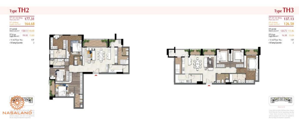 Thiết kế căn hộ tại dự án