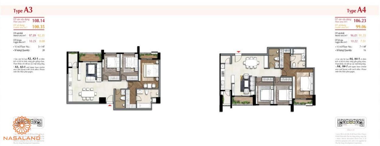 Thiết kế một căn hộ tại dự án The Ascentia quận 7