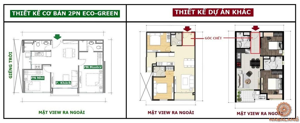 Thiết kế hoàn hảo căn hộ Eco Green Sài Gòn quận 7