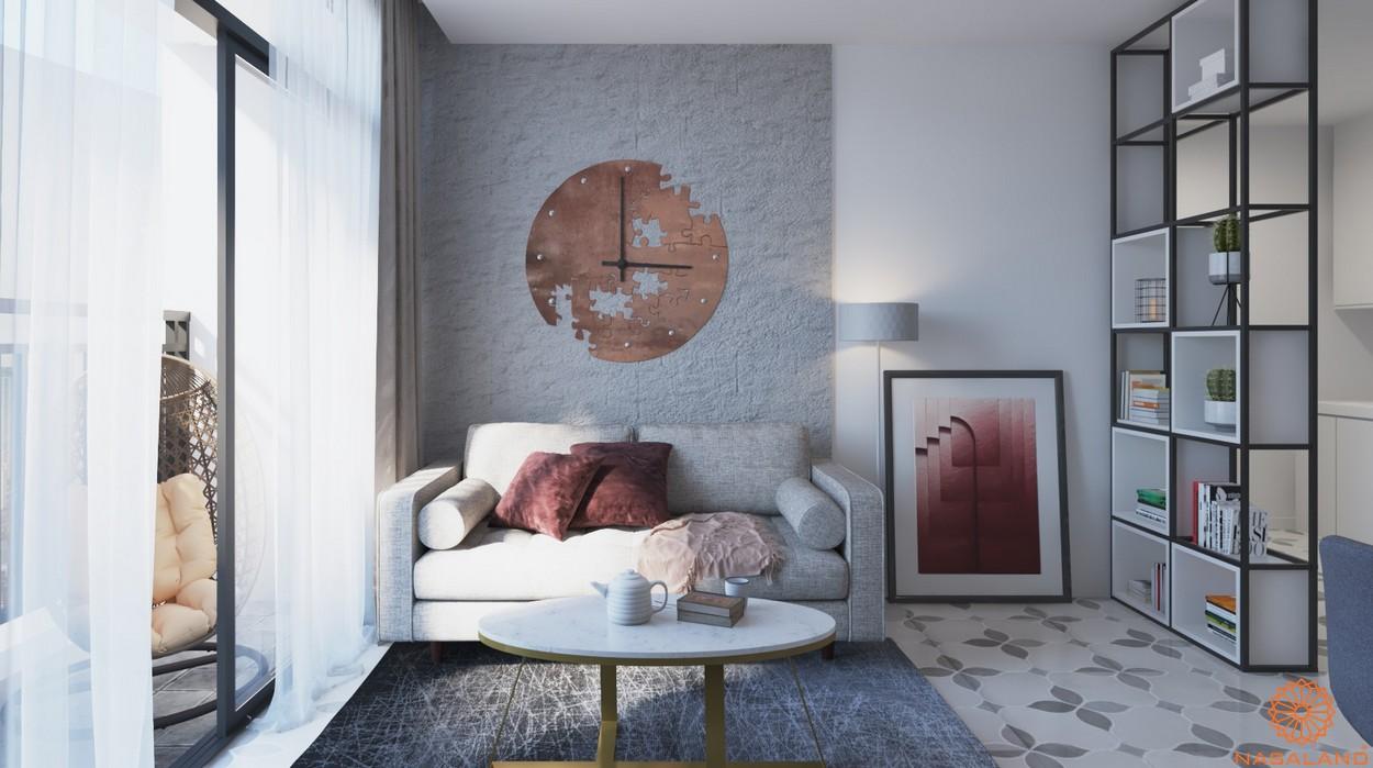 Thiết kế chi tiết phòng khách căn hộ Lavida Plus quận 7
