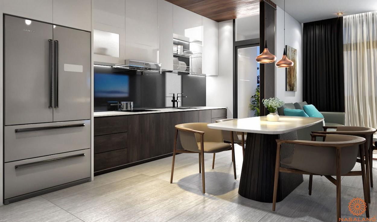 Thiết kế chi tiết phòng bếp căn hộ Lavida Plus quận 7