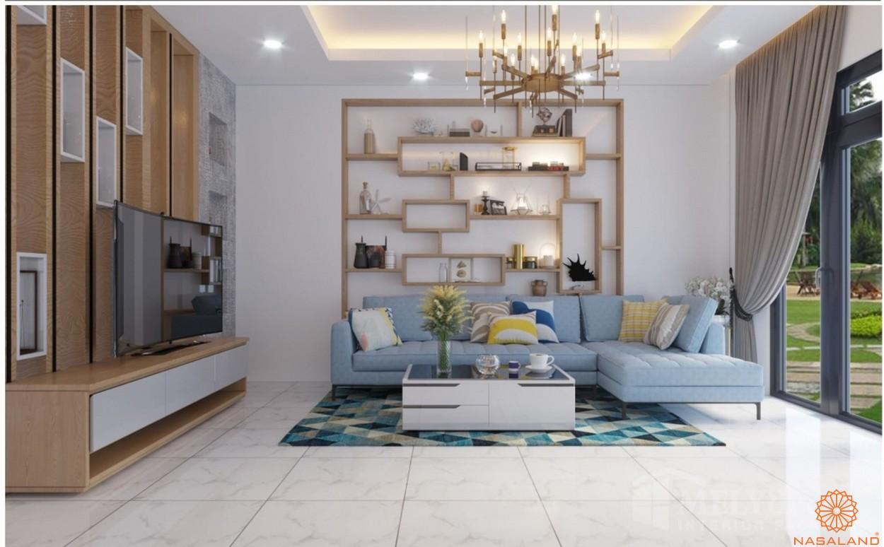 Thiết kế căn hộ the Blue Star quận 7