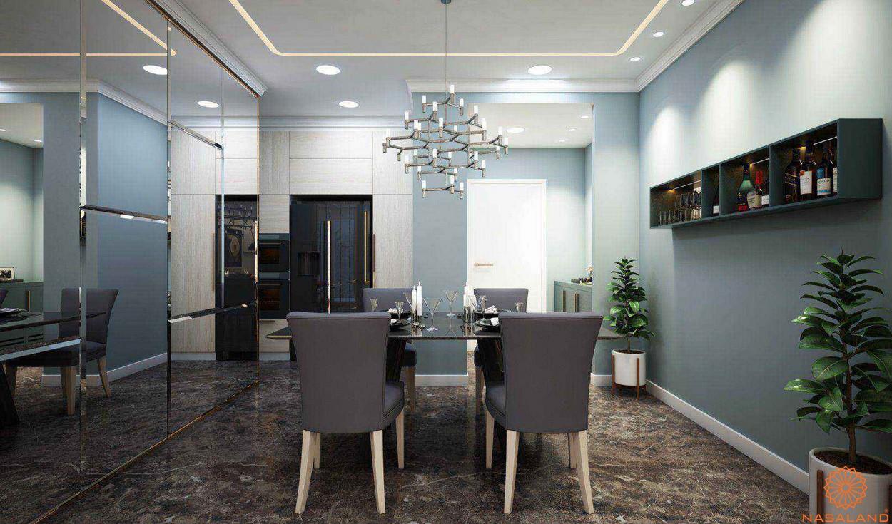 Thiết kế dự án căn hộ The Tresor quận 4