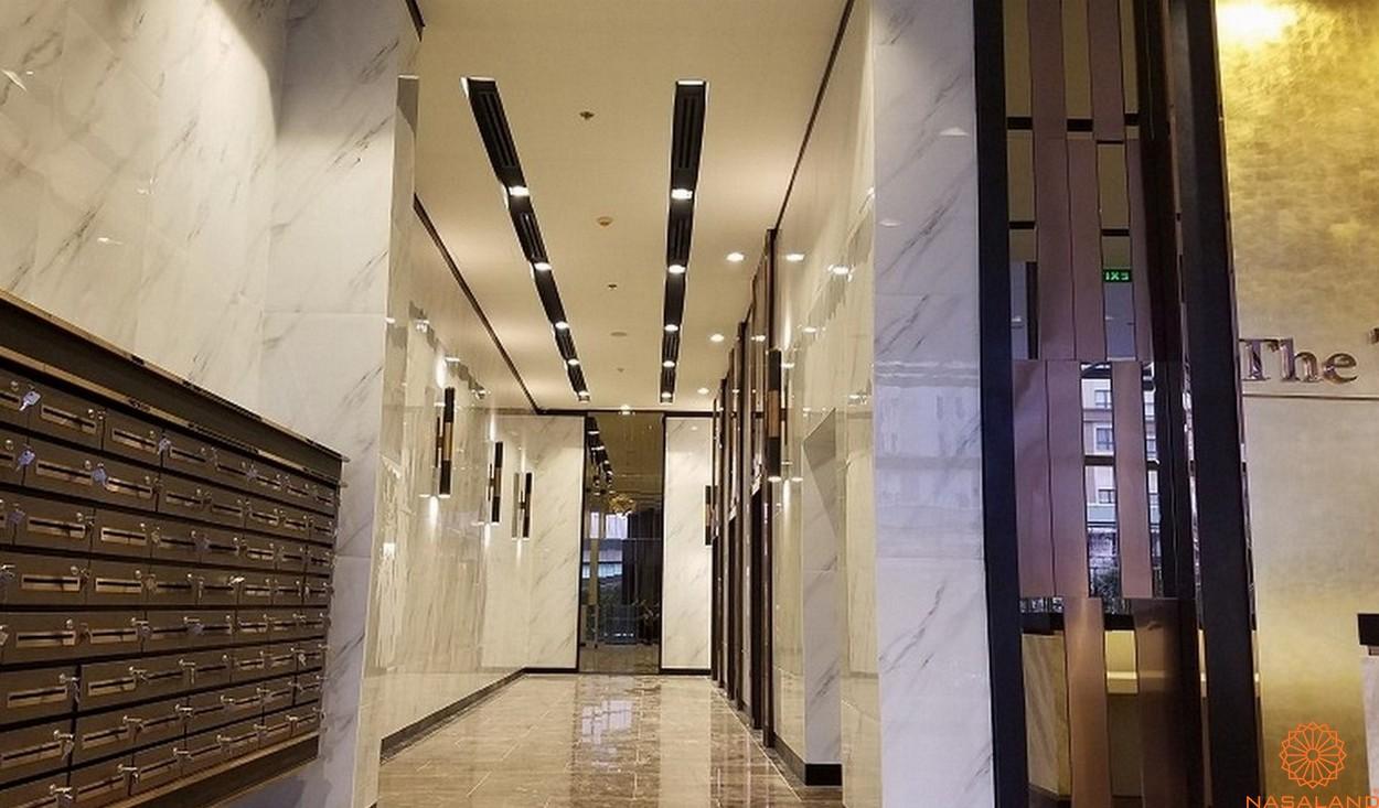 Thiết kế sảnh dự án căn hộ The Tresor quận 4