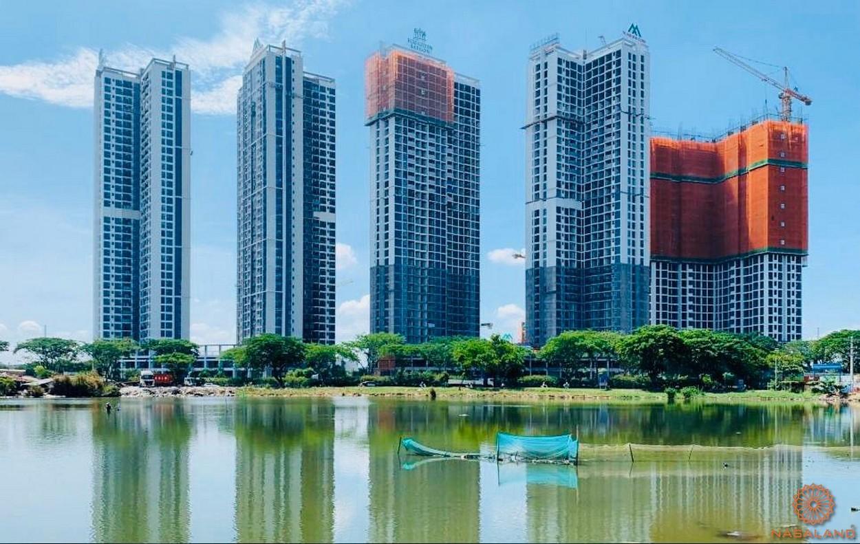 Tiến độ xây dựng dự án căn hộ Eco Green Sài Gòn quận 7
