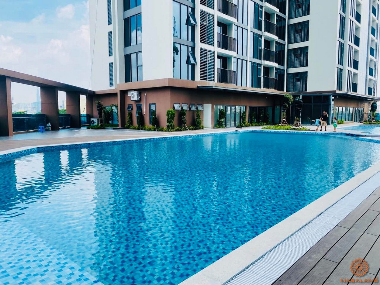 Tiến độ hồ bơi dự án căn hộ Eco Green Sài Gòn quận 7