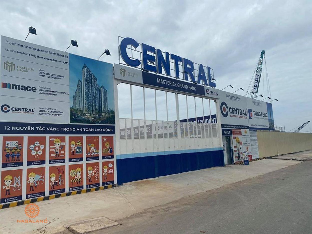 Tiến độ xây dựng dự án Masteri Centre Point - cập nhật mới nhất tháng 8/2020