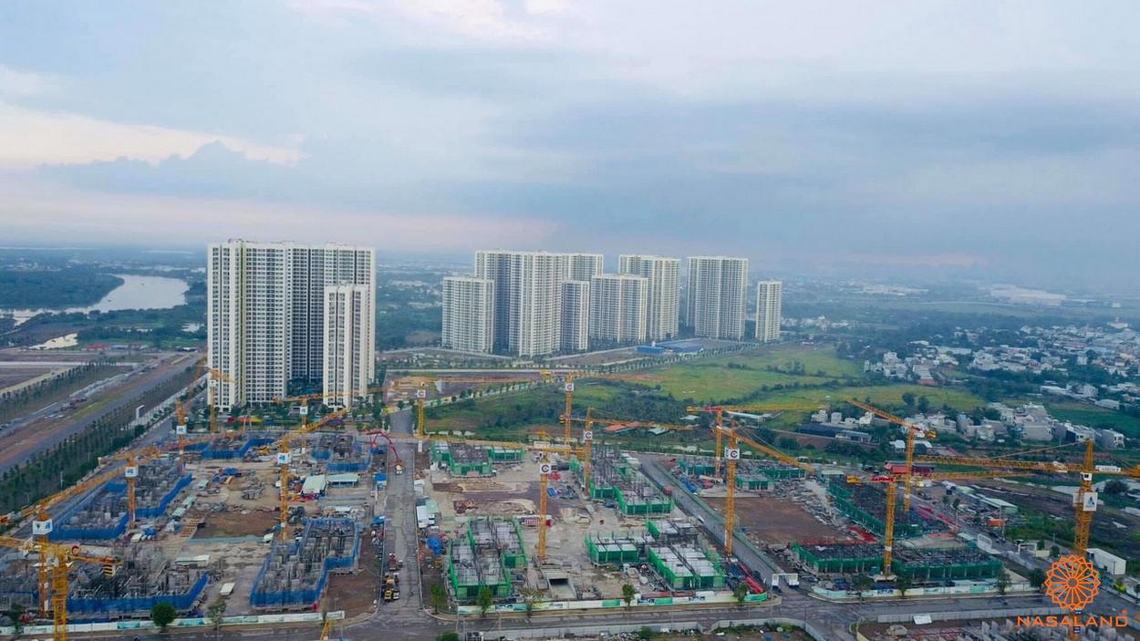 Tiến độ xây dựng Vinhomes Grand Park - phân khu The Origami