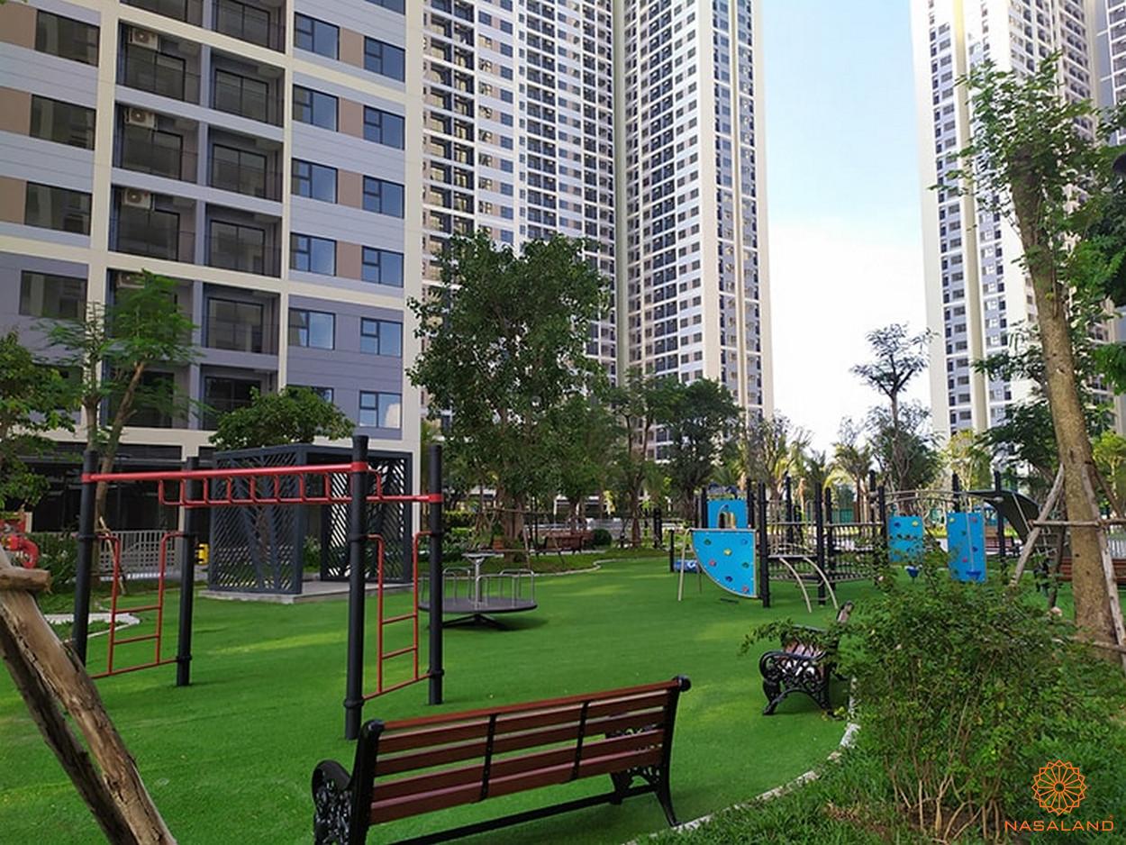 Tiến độ xây dựng Vinhomes Grand Park - phân khu The Rainbow